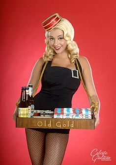 Cigarette Girl cute costume idea