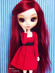 Usando cor preferida - 30 Days Pullip (20/30) by CottonCandy♥, via Flickr  #doll #pullip