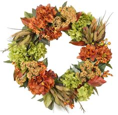 The Wreath Depot offers a beautiful selection of handcrafted floral and door wreaths.