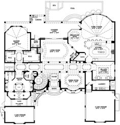 First Floor of Plan ID: 53040