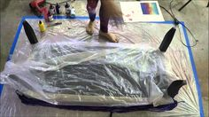 Unicorn SPiT Gel Stain on Fabric