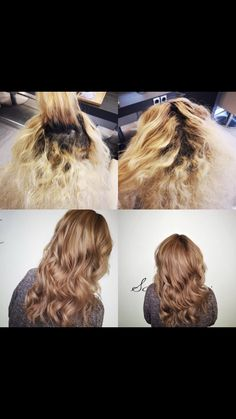 Blonde Hair, Long Hair Styles, Beauty, Hairdressers, Dressmaking, Blonder Hair, Beleza, Yellow Hair, Long Hairstyle