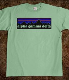 """Alpha Gamma Delta """"Patagonia"""" Shirt"""