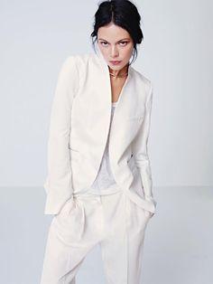 Veste tailleur et pantalon de mariée - Tenue: H&M - La Fiancée du Panda blog Mariage et Lifestyle