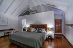 Villa Marigot Bay.  Walking distance to the beach, superb sea views and a warm and cosy decor with furnitures by Christian Liaigre http://happy-villa.com/Villa-Marigot-Bay.html
