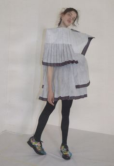 I like the teenager pose, no hair/mu with these clothes. Lily McMenamy x Juergen Teller