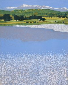 Buy art online- Cadair- signed limited edition etching by landscape artist Phil Greenwood from CCA Galleries. Watercolor Landscape, Landscape Art, Landscape Paintings, Contemporary Landscape, Land Art, Japanese Art, Painting Inspiration, Les Oeuvres, Printmaking