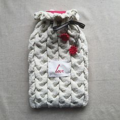 Hot Water Bottle Cover - Lapoplap | shop.kamersvol.com Water Bottle Covers, Maker Shop, Online Marketplace, South Africa, Creative, Crafts, Shopping, Collection, Hot