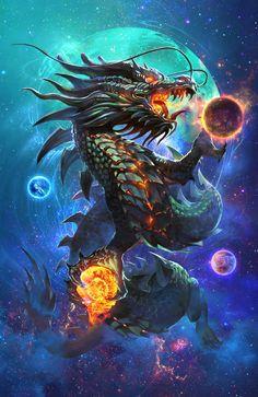 Dark Dragon, Chen Xiao on ArtStation at https://www.artstation.com/artwork/dark-dragon-292de874-3167-407f-b682-5524bd1e1e82
