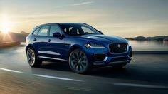 2017 F-PACE First Edition shown in Caesium Blue. Supply of 2017 F-PACE First…