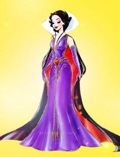 Disney Princess as a villain - Snow White as the Evil Queen
