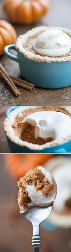cute mini pumpkin pies