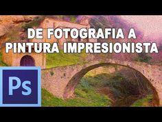 Convertir fotografia en pintura impresionista - Tutorial Photoshop en Español