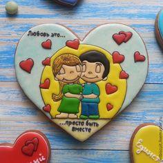 Купить Пряник Love is - пряник, пряник love is, love is, сладкий подарок