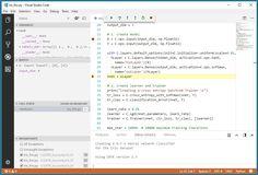 Writing CNTK Programs using the VS Code Editor