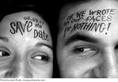 "Now this is how a ""Save the Date"" should be done!!"