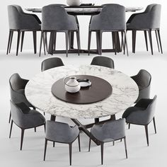 Round Dinning Table, Round Table And Chairs, Extendable Dining Table, Dining Table Chairs, Dining Furniture, Tables, House Furniture Design, Home Room Design, Dining Area Design