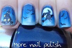 Halloween Witch Nails by More Nail Polish Blog