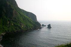 北海道礼文島 猫岩 Hokkaido