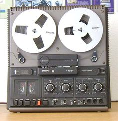 Philips Tapedeck N4504 : recording, mixing, listening, etc., I used this deck with a lot of fun!
