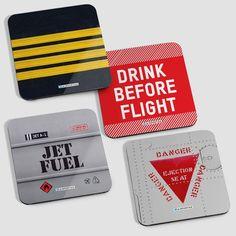PILOT - Coaster Set