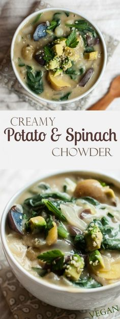 Creamy-Potato-Spinach-Chowder