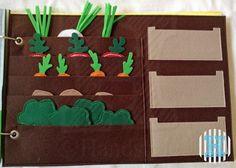 Colhendo verduras