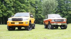 ランクル200と60 カスタムデモカー  Landcruiser200 Landcruiser60 200series 60series URJ202W FJ62G