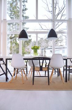 Swedish dinning room #swedish #swedishinterior