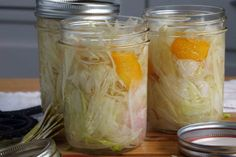 """Pickled Fennel - I had to move this from """"looks good"""" to """"tastes good"""" because after making it I am hooked!"""