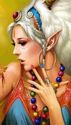 laminas de hadas, sirenas, duendes y otras cosillas.... (pág. 63) | Aprender manualidades es facilisimo.com
