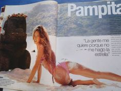 PAMPITA AT POLINESIA SUPER SEXY LATINA JULIETA PRANDI TOP MODEL GENTE MAGAZINE