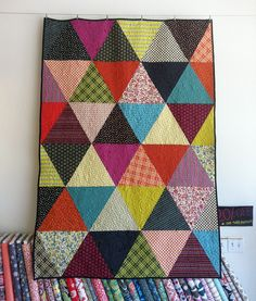 quilt- triangles
