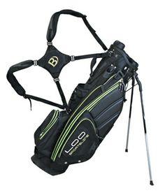 ed21db8e42 2013 Cart Bag Black Lime Light Quiet Organizer by Bennington Golf. Buy it    ReadyGolf.com