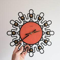 Vintage R.f. sveglia orologio di ottone di TheThingsThatWere