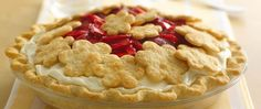 You only need 5 ingredients to make this fun and fluffy award-winning pie topped with creative pie crust cutouts.