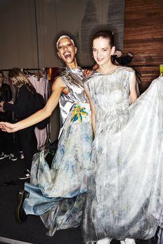 Sonny Vandevelde - Akira Resort 19 Fashion Show Sydney Backstage Sydney Fashion Week, Daily Fashion, Fashion Show, Fashion Trends, Akira, Backstage, Cool Style, Sari, Model