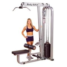 SLM300G3 ProClub Lat Mid Row Machine with Steel Mainframe and Tear-Resistant DuraFirm Padding 310-Pound Stack