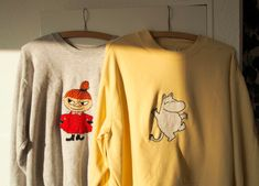 DIY - Embroidery on clothes Embroidery On Clothes, Diy Embroidery, Diy Clothes, Graphic Sweatshirt, Sweatshirts, Sweaters, Inspiration, Sewing Ideas, Homemade