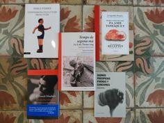 Per sant Jordi també recomanem llibres d'història, música, fútbol, cuina... Aquesta és la nostra tria! Llibres de Empúries, Tusquets Editores, Raig Verd Editorial, Acantilado i 66 rpm Edicions