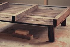When I started the project I'm about to share with you, I had no idea what I was doing or how it would turn out. Luckily, I am thrilled with the results: This rustic looking coffee table was made with just two pallets. There had been a bunch of pallets stashed next door as they...