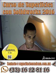 Diseño de Superficies con Solidworks en Guadalajara y eDo de Mexico