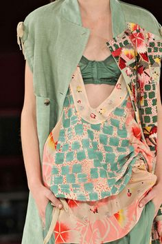 except for the bra haning out!    covet garden - blog - Roots of Inspiration: Kenzo Patterns
