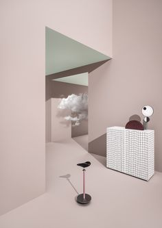 #TERZOPIANO • A #CLOUD IN THE #ROOM •http://decdesignecasa.blogspot.it