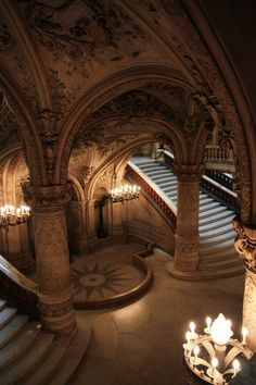songsofember:  clavicle-moundshroud:  Grand staircase  https://www.flickr.com/photos/7471842@N02/
