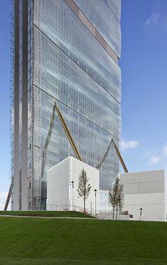 ALLIANZ Tower / Arata Isozaki + Andrea Maffei -Milan, Italy