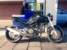 My Ducati Monster 600. I love the sound.