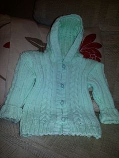 Childs knitted jacket