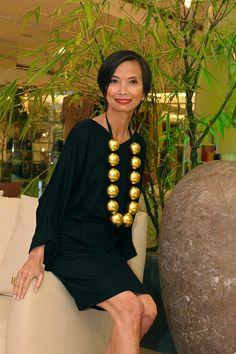 Josie Natori, Fashion Designer #PinoyPride #Pinoy #Philippines #Pilipinas #Filipino