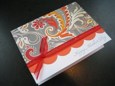 Handmade Mothers Day Card by apaperaffaire on Etsy